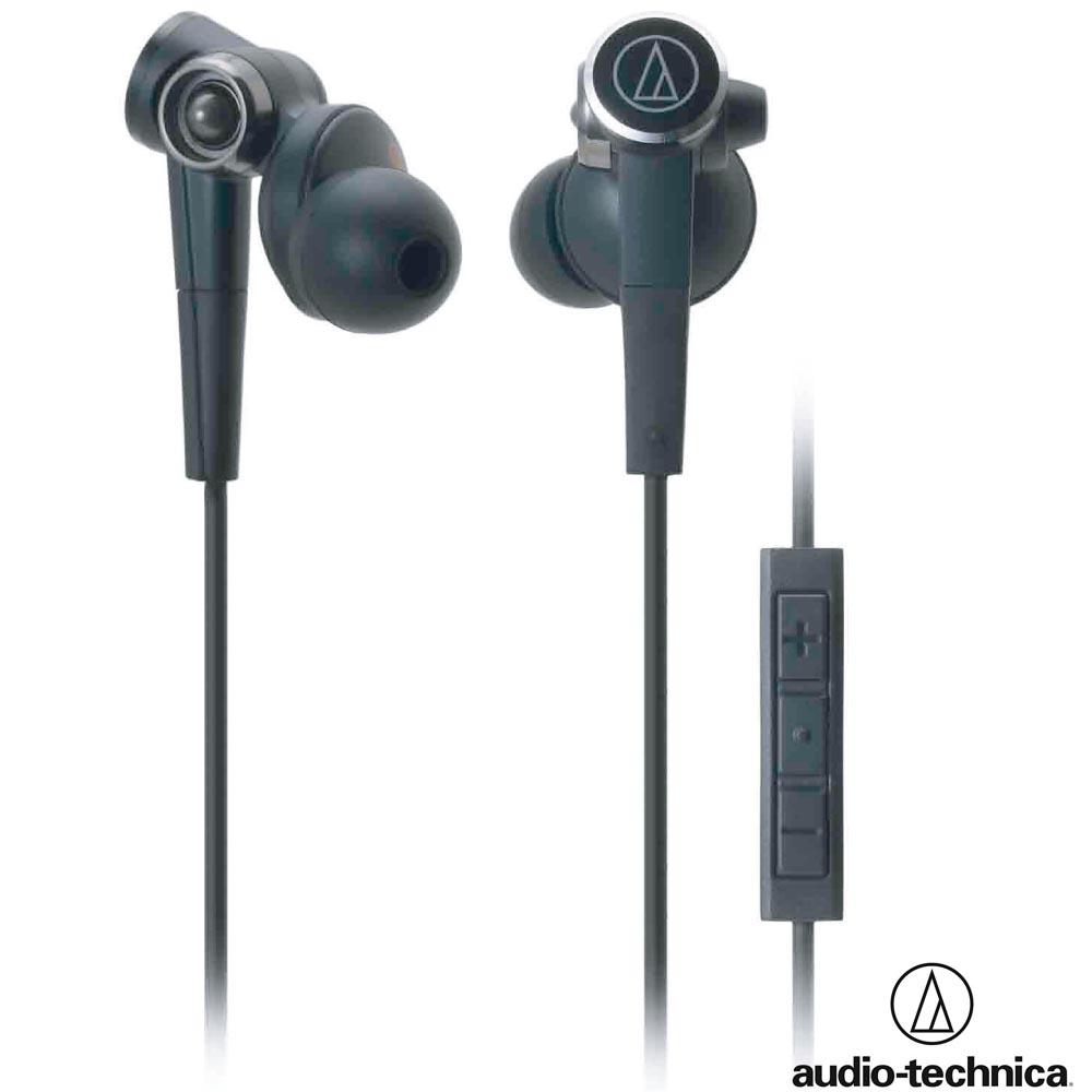 鐵三角 ATH-CKS99I iPhone/iPad/iPod 線控重低音密閉式耳機