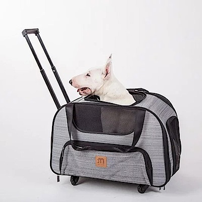 myzoo寵物推車 寵物包 貓狗外出籠 寵物用品 隱形拉桿推車