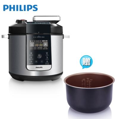 飛利浦-PHILIPS-頂級智慧萬用鍋HD2175