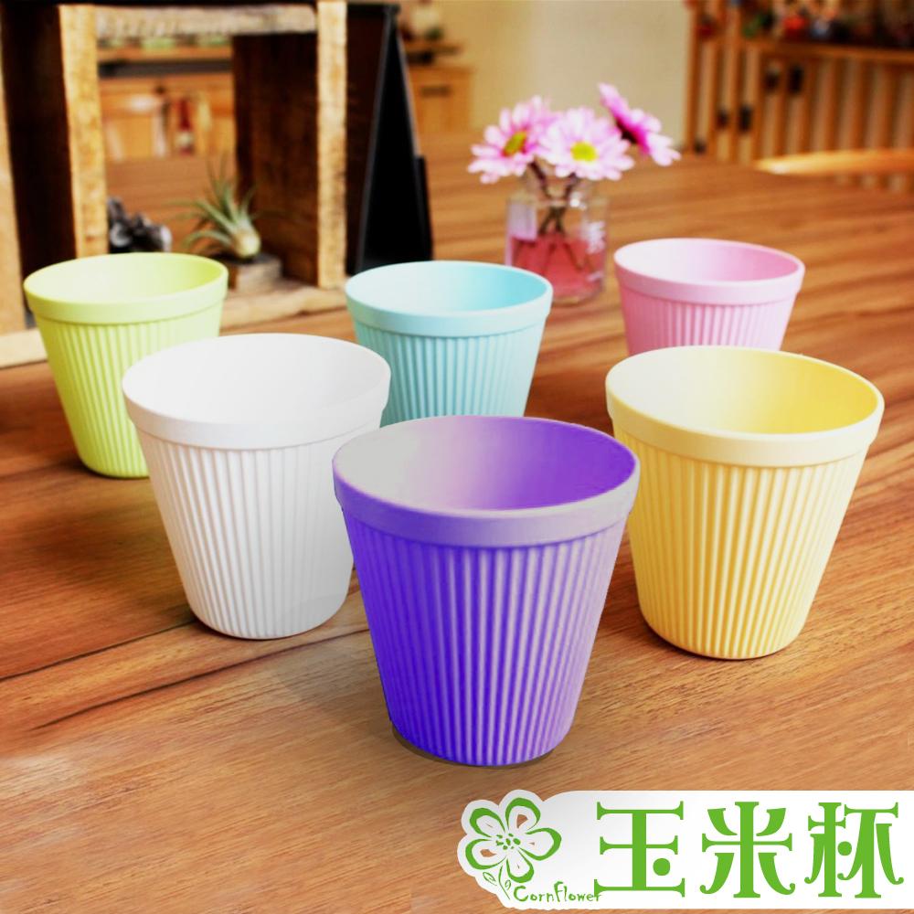 Cornflower玉米花快樂森林玉米餐具-玉米杯(6入)