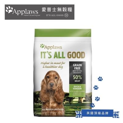 【APPLAWS 愛普士】全齡犬-無穀-鴨肉+鹿肉 2.7kg