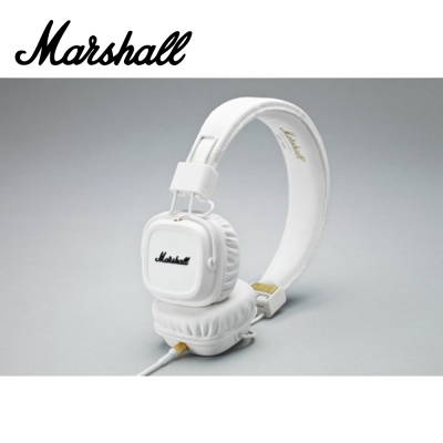 MARSHALL Major II White 耳罩式耳機 冰雪白色款