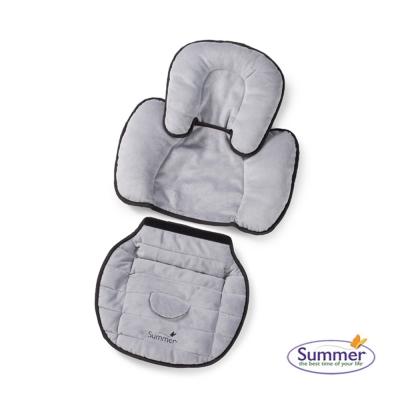 美國 Summer Infant 2合1車用柔軟保護墊-灰色