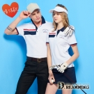 Dreamming 品味舒適速乾液鈦涼感紗短POLO衫-白色