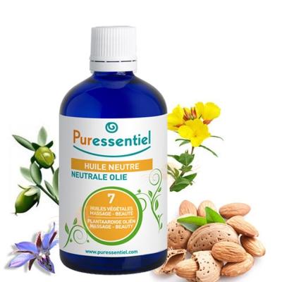 Puressentiel璞醫香 歐盟BIO七種複方植物基底油 100ML