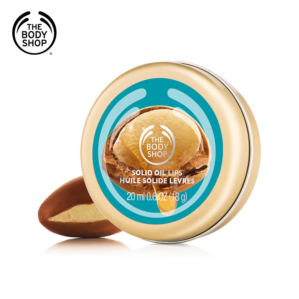 The Body Shop 摩洛哥堅果油唇部滋養霜-20ml
