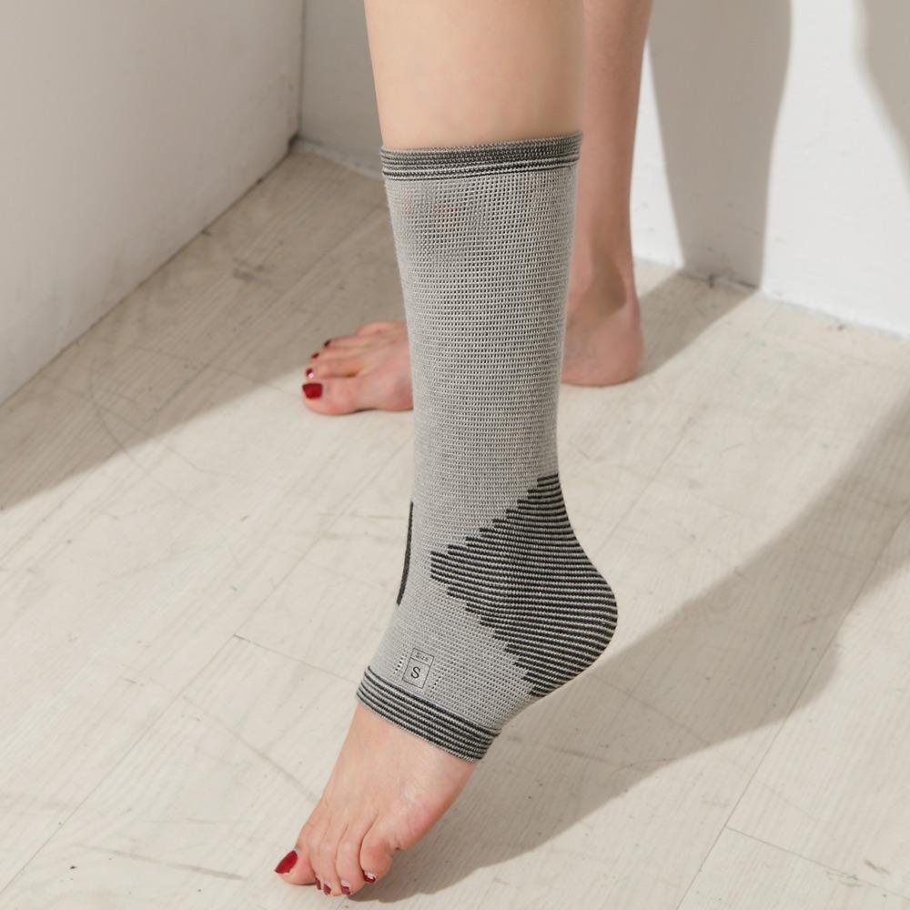 史密斯竹炭纖維運動護踝2入組