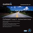 GARMIN 東歐西北部地圖卡-快