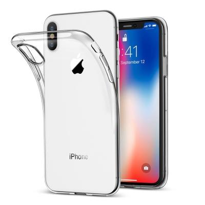 iPhone X 超薄透明手機保護殼 - 買再送保貼