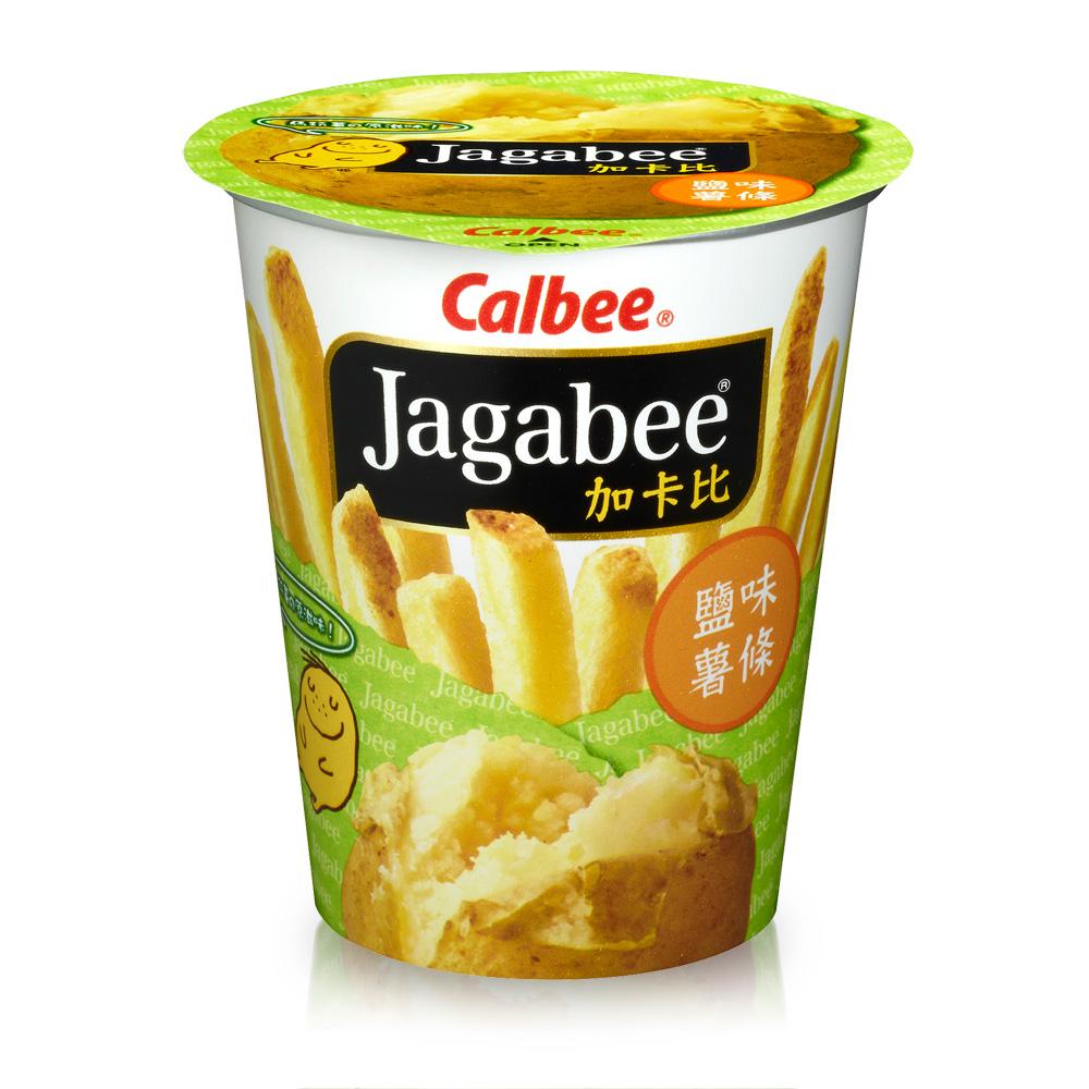 Calbee 薯條先生杯裝-鹽味(40gx6杯)