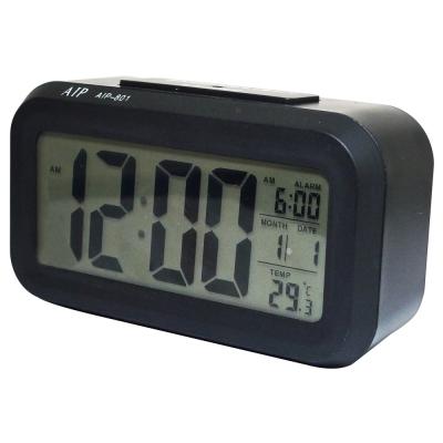 4 . 7 吋超大螢幕智能萬年曆電子鐘 AIP- 801  (黑色)