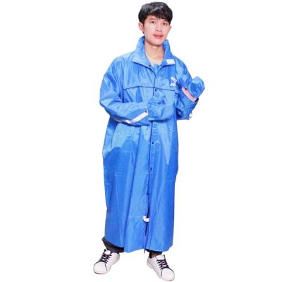 JUMP挺好風雨衣(藍色)+通用型鞋套