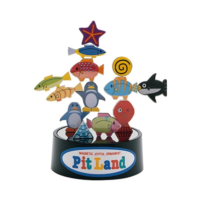 PitLand 日製磁鐵趣味玩具 水族館(5Y+)