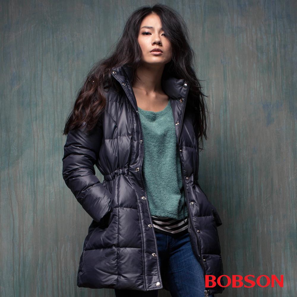 BOBSON 女款  尊爵長版羽絨外套