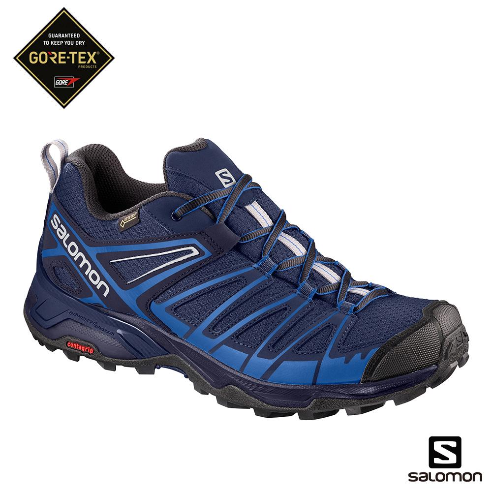 Salomon 登山鞋 低筒GORETEX 男X ULTRA 3 PRIME