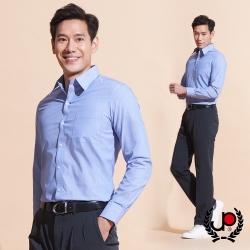 極品西服-優雅細條紋修身版長袖襯衫_藍(SW040-58)