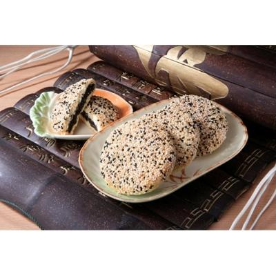 艾妮 礦工餅8入禮盒(蛋奶素)(芝麻酥餅*8入)