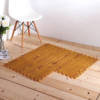 E&J-環保木紋圖樣巧拼地墊(32片)45*45cm