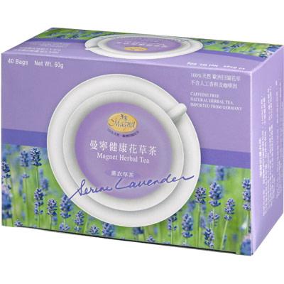 曼寧 薰衣草茶量販盒(1.5gx40入)