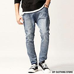 超彈性牛仔褲(6色) ZIP日本男裝