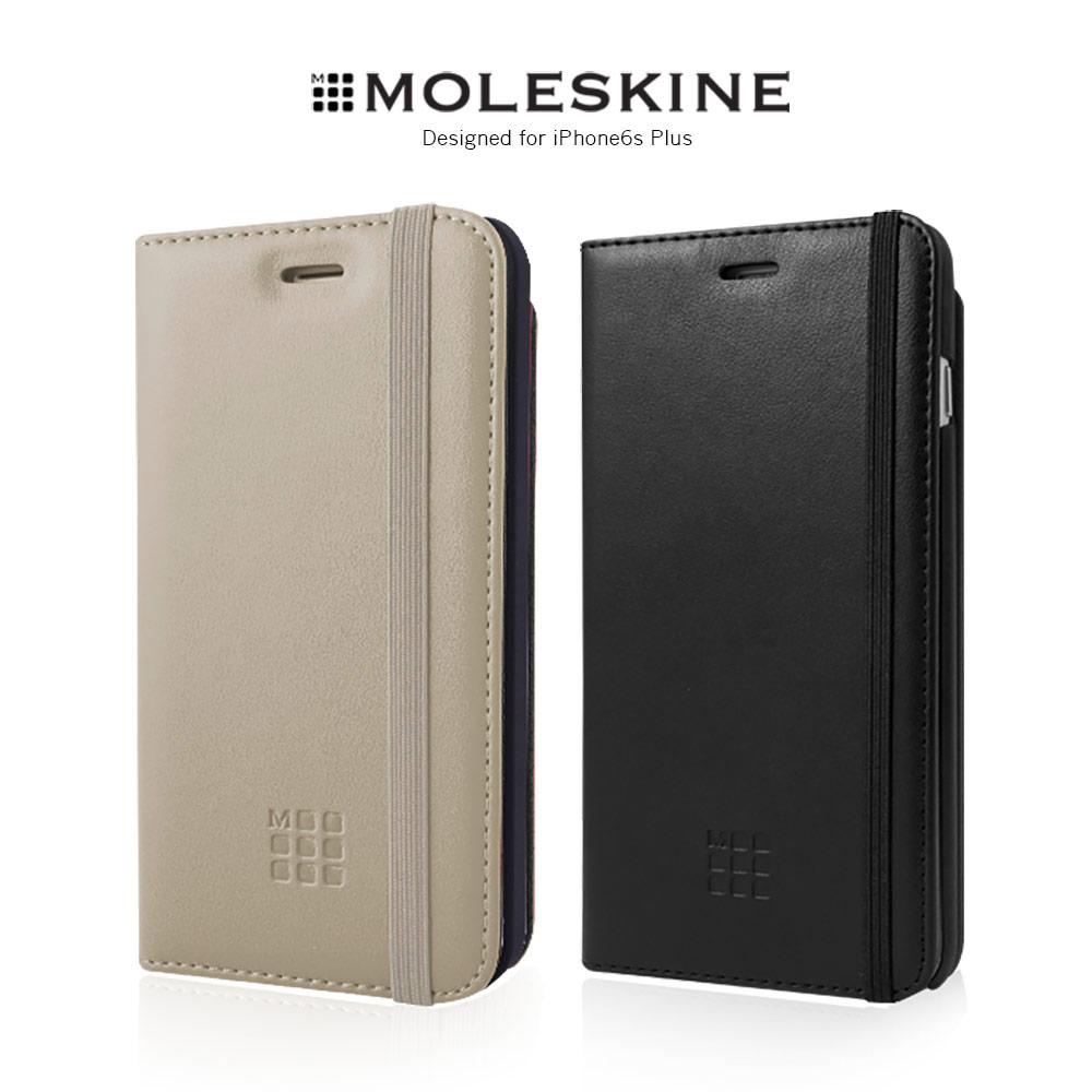 Moleskine iPhone6s Plus 5.5吋側掀皮套