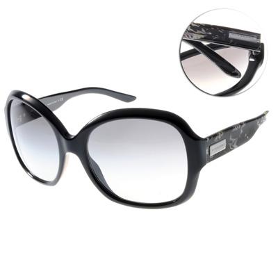 BURBERRY太陽眼鏡 經典騎士入手款/黑#BU4058M 321511
