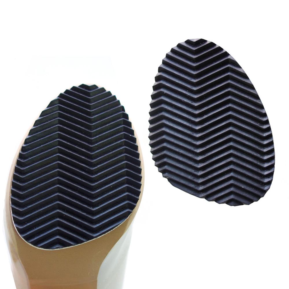 足的美形  台灣製加厚3mm鞋底防滑貼 黑(3雙)