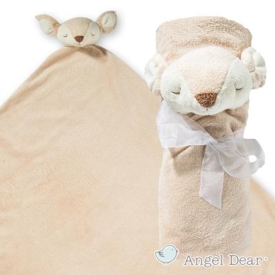 美國 Angel Dear 大頭動物嬰兒毛毯 (小鹿)