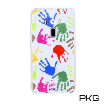 PKG ASUS Zenfone3 5.5吋 彩繪空壓氣囊保護殼-浮雕彩繪-繽紛...