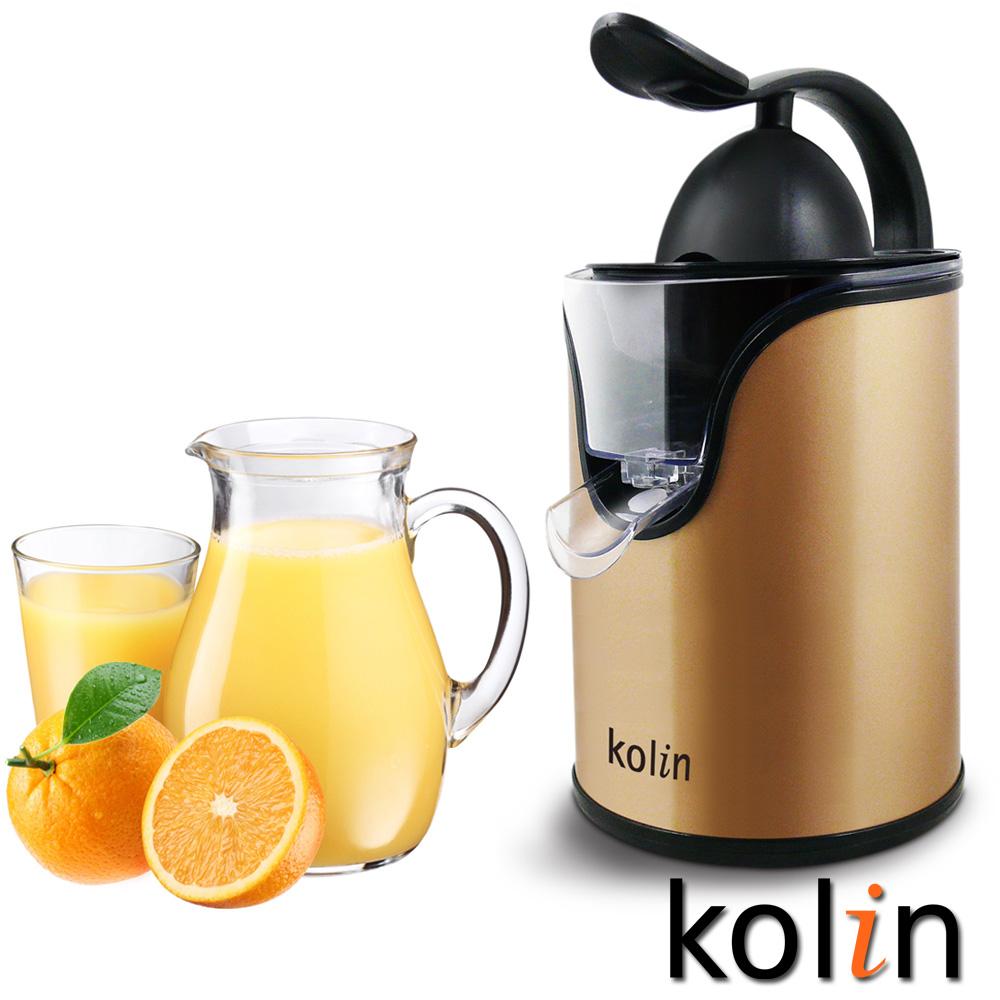 歌林kolin電動榨汁機KJE-MN856-炫金版