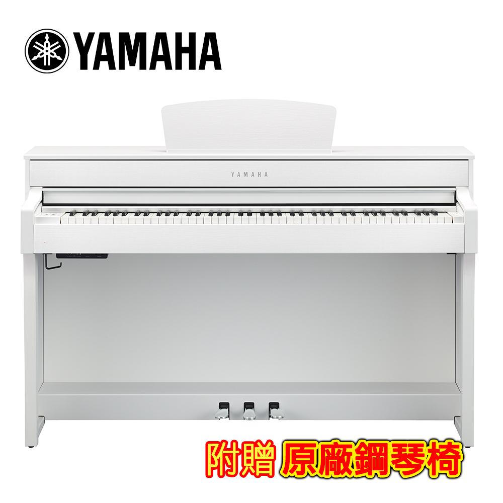 YAMAHA CLP-635 WH 88鍵標準數位電鋼琴 典雅白色款 @ Y!購物