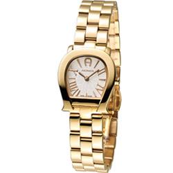 AIGNER 愛格那 Varese系列淑女時尚腕錶-金色/25mm