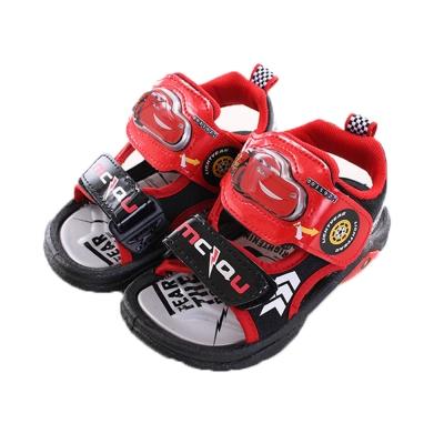 閃電麥坤 閃燈運動 涼鞋 紅 sh9676