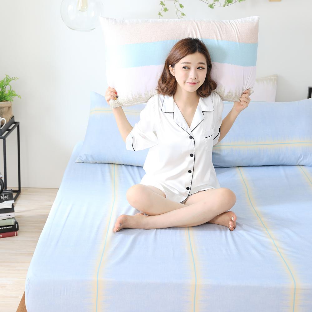 GOODDAY-黃昏-纖絨棉-防蹣系列-床包 (180x186cm)