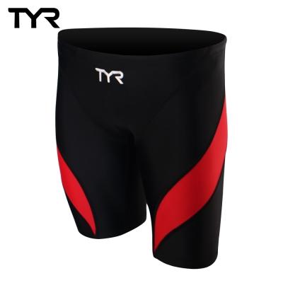 美國TYR男用訓練及膝泳褲Aura Jammer Red 台灣總代理