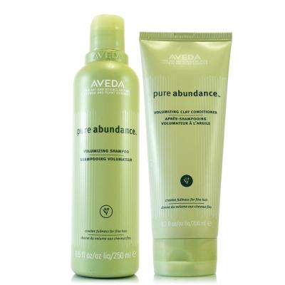 AVEDA 純豐洗髮精250ml+純豐潤髮乳200ml
