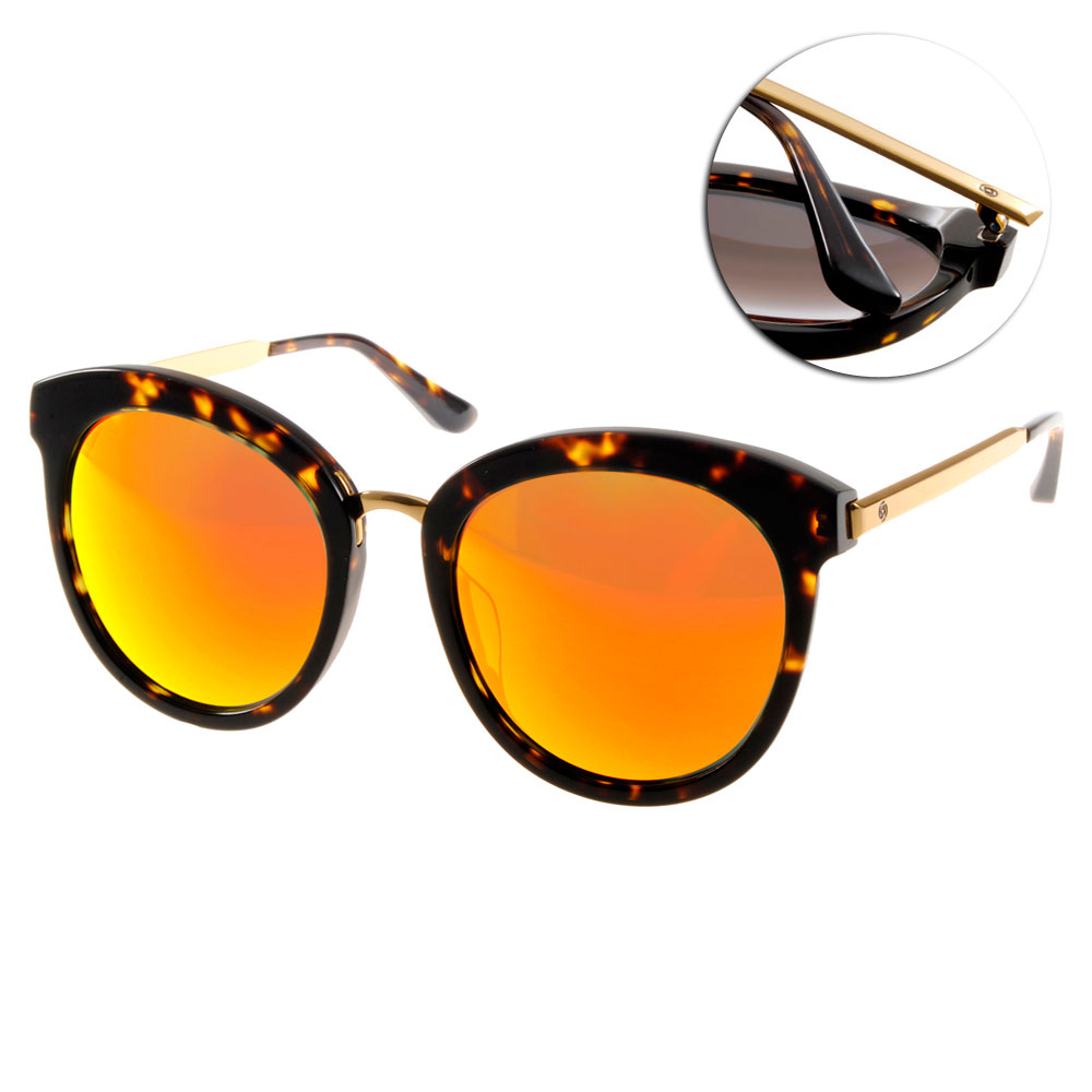 Go-Getter太陽眼鏡 韓系必備/琥珀-水銀#GS1020 DEOM