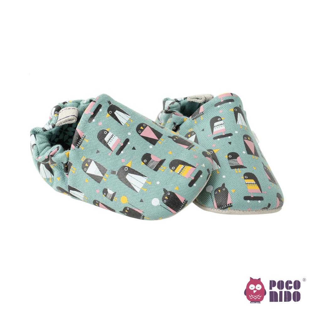 英國 POCONIDO 純手工柔軟嬰兒鞋 (小企鵝)