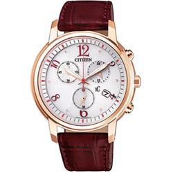 CITIZEN星辰xC系列廣告款自信魅力計時腕錶(FB1432-12A)