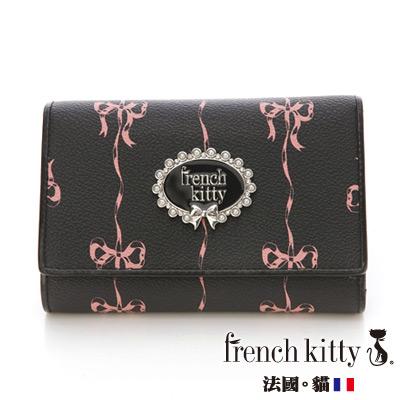 french kitty-法式古典C-Classical系列短夾-黑