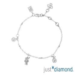 Just Diamond 18K金鑽石手鍊-Bonjour! My Melody甜蜜香氛