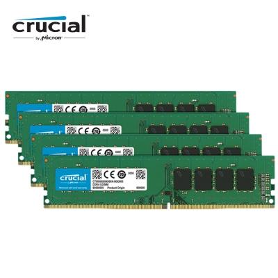 Micron Crucial D4 2666/32G (8G*4)四通道RAM(原生顆粒)