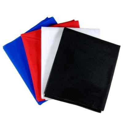 70CM絨質4色背景布-黑白紅藍