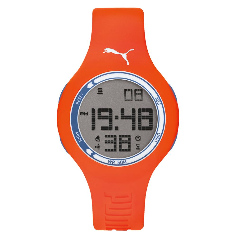 PUMA 陽光信號電子腕錶-PU910801049/45mm