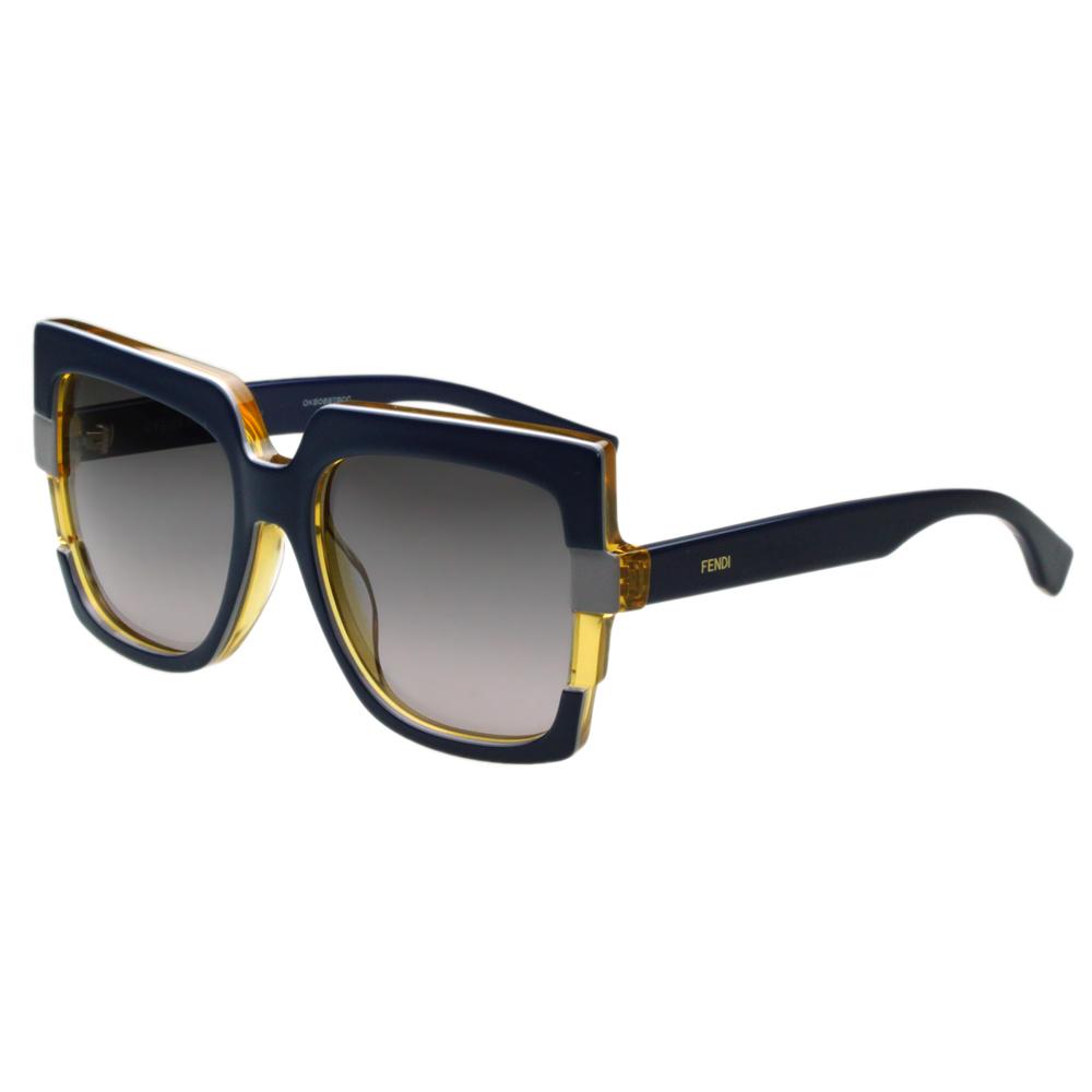 FENDI 時尚太陽眼鏡 (藍色)FF0062S