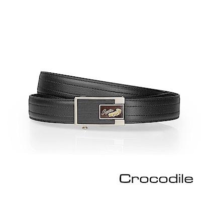 Crocodile 紳士自動穿扣皮帶 0101-8005