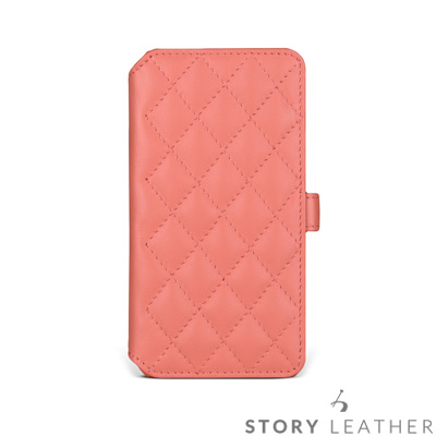 STORYLEATHER iPhone X Style-iPX5 硬殼式側翻菱格...