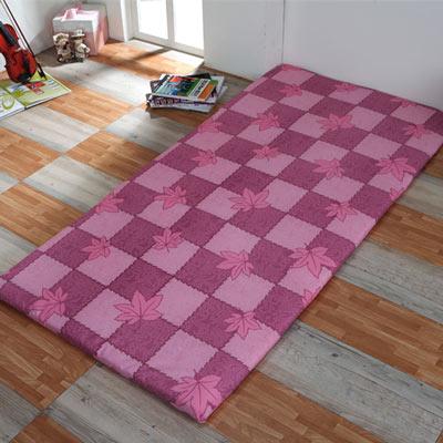 倩美娜斯 特選折疊床墊楓葉紅-單人3尺
