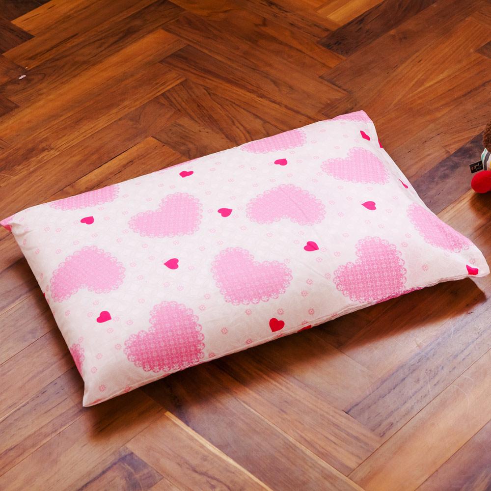 鴻宇 美國棉 防蹣抗菌100%乳膠 夢幻公主-兒童標準乳膠枕