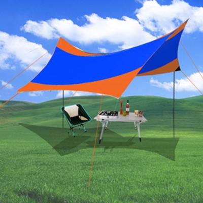 WASHAMl《多功能天幕帳篷》(550x560)防紫外線防雨遮陽棚